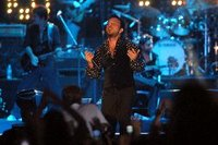Tarkan on stage in Kemer