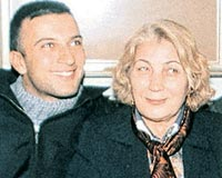 Tarkan and his mother