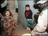 Iraqi children have seen their parents killed before their eyes