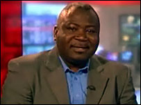 Guy Goma faced questions about the Apple vs Apple court case