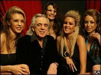 British baby boomer Peter Stringfellow now ageing hipster
