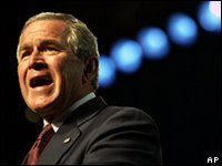 Bush in Salt Lake City: war must be won
