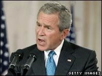 Bush's policies have been criticised