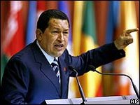 Venezuela's Hugo Chavez wants to re-organise the movement