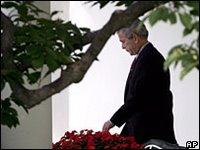 Bush in trouble