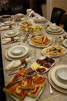 An iftar meal