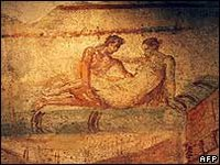 Each fresco reveals a different sex scene