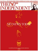 16 May 06 Independent Front Page