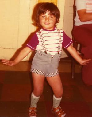 A young Tarkan dancing to the beat