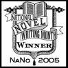 Winner badge for 2005