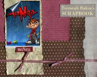 Scrapbook banner