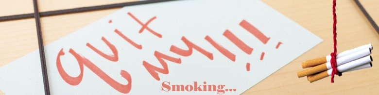 Que la personne qui sent a cessé de fumer