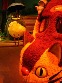 Totoro and Cat Bus at Minnesota Children's Museum