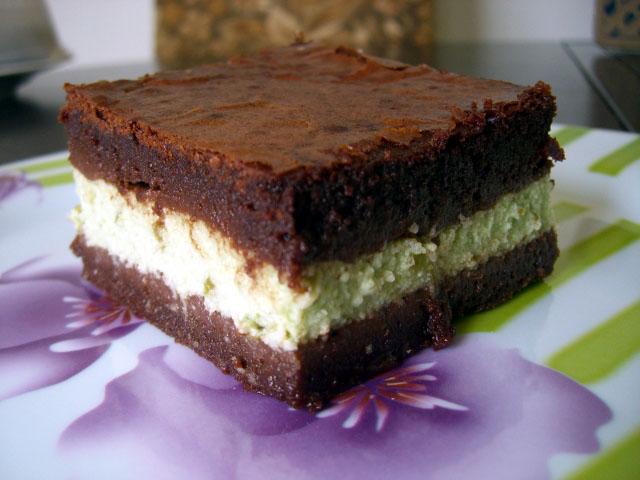 Gateau fourre mousse au chocolat