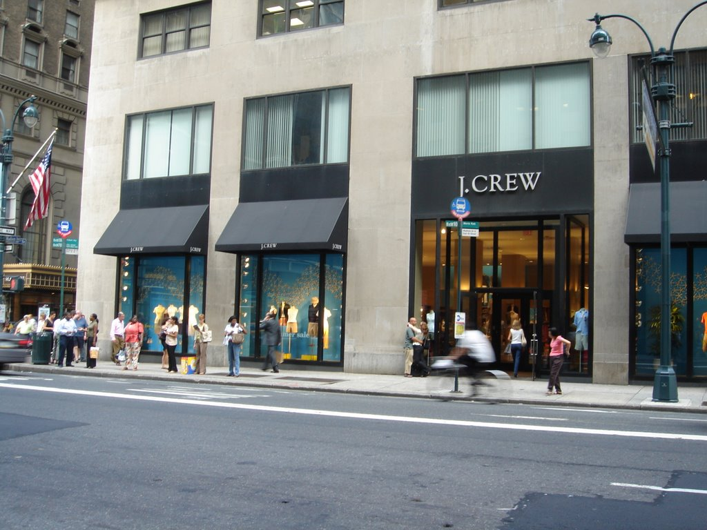 some small sense j crew a quick store visit