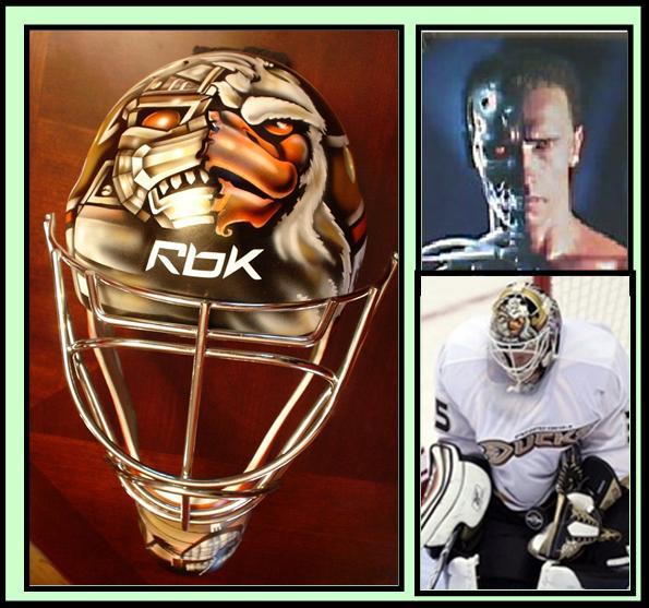 Jonathan Bernier Ducks Mask