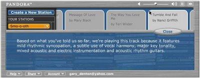 Pandora uses music genomes