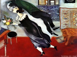 Chagall - The birthday