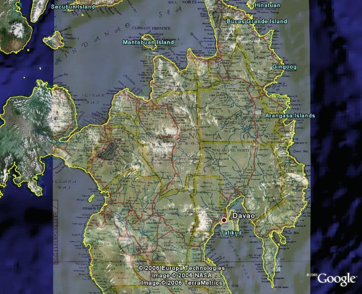 Philippines makeover june 2006 weve uploaded some road map overlays for visayas and mindanao both coming by way of brimstone of google earth hacks check out the latest downloads at gumiabroncs Image collections