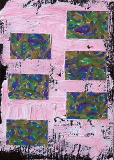 Mail art ATC sent to Alicia Wade from Troy Thomas