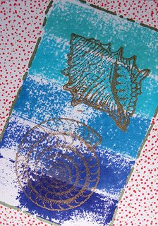 Mail Art ATC sent to Anne Braunschweig from Troy Thomas