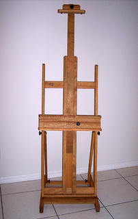 Troy Thomas' new easel