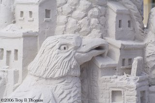 Sand Sculpture; Fort Myers Beach, Florida; Photography by Troy Thomas