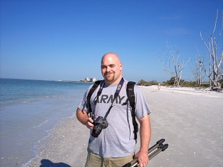 Troy Thomas on Lover's Key, Florida