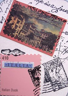 Mail Art ATC sent by Margaret Albright to Troy Thomas