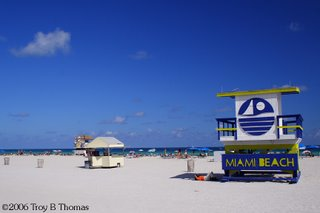 Miami's South Beach, Florida; Photography by Troy Thomas