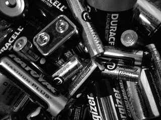 Batteries, Thursday Challenge; Photography by Troy Thomas