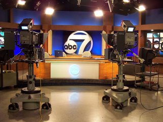 Thursday Challenge: Work, ABC7 Studio in Fort Myers, Florida, Photography by Troy Thomas