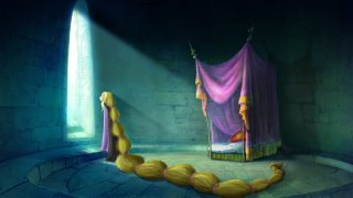 Rapunzel esperando