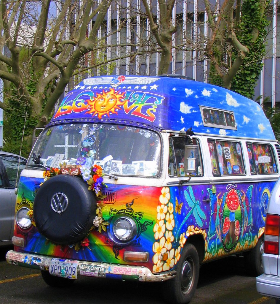The Tasmanian Trail: The Hippies are Alive and Well Eugene Oregon