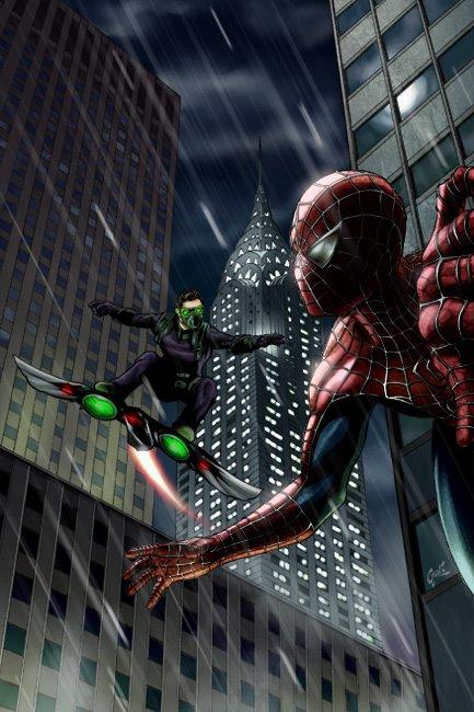 ultimate spider man fan art