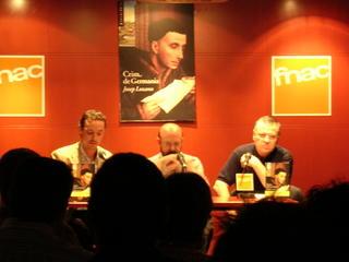 Presentació de Crim de Germania a l'Fnac de València - 07.10.2005 dv.
