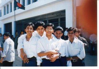 Khaled Shafi Shaikat Shaon Kajol Abir (from left)