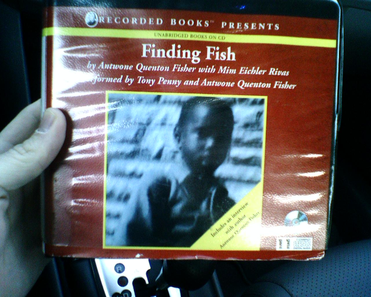 finding fish a memoir by antwone fisher Get this from a library finding fish : a memoir [antwone quenton fisher mim eichler rivas] -- antwone fisher tells the story of his life, from his birth to a prison inmate to his success as a screenwriter in hollywood, discussing his childhood and teen years in foster homes, his stint in the.