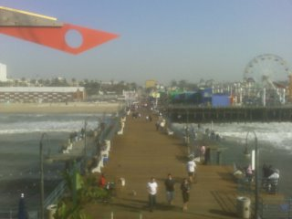 Santa Monica Pier from the end
