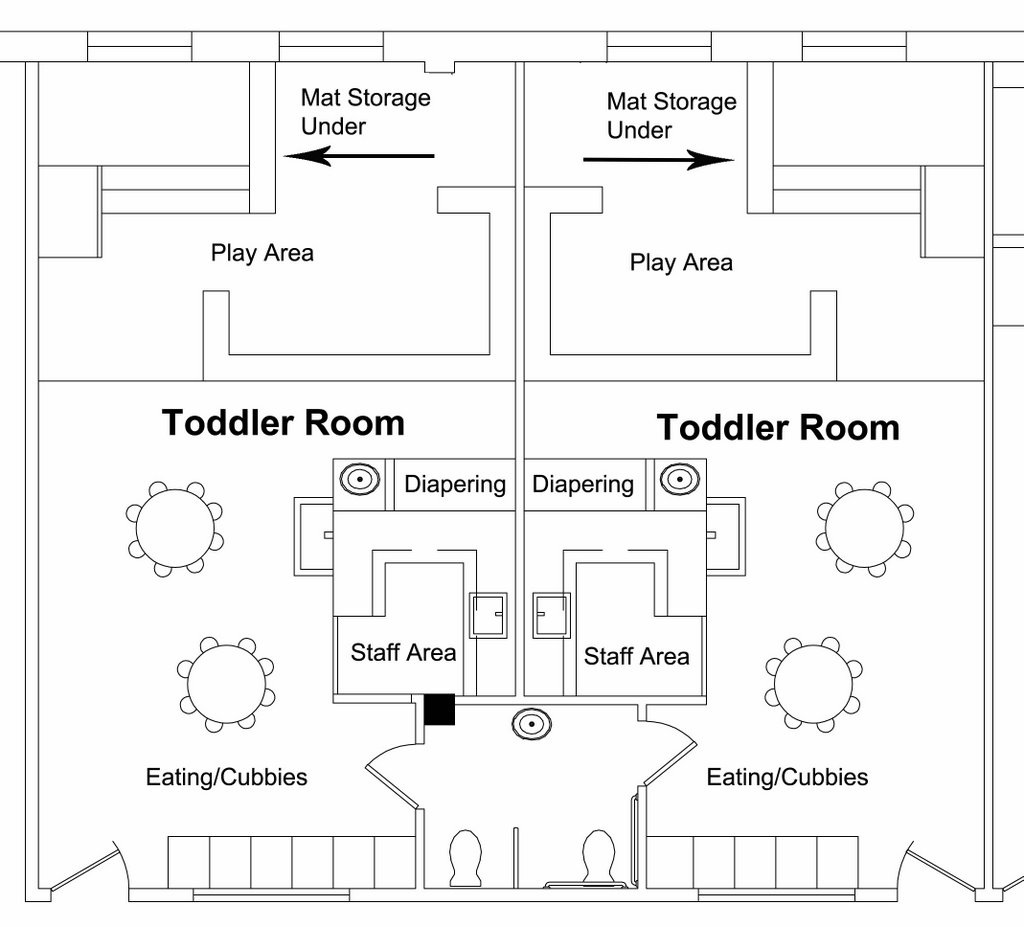 Denise 39 s blog toddler room layout Room layout