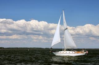 Chesapeake Bay Sailboat