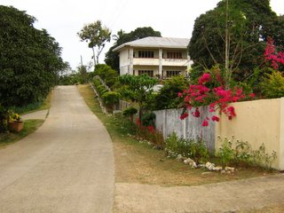 This is Lampakan school, where we found the chocolate fruits.