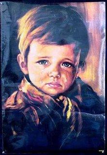 El niño que Llora (Cuadro Maldito)