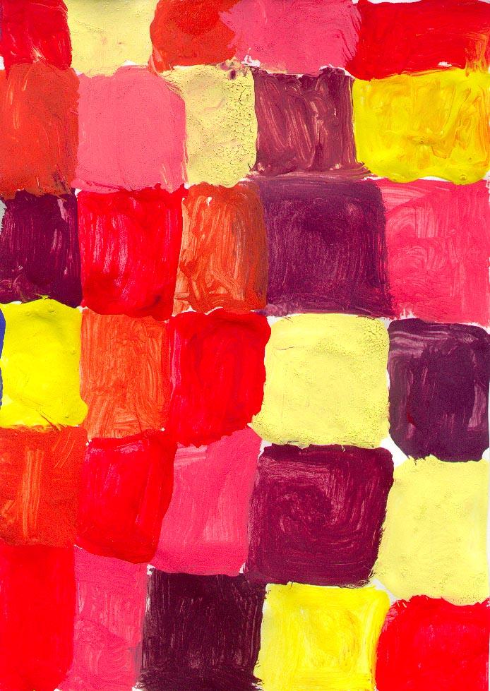Ciao bambini progetto a come arte for Disegni a colori caldi