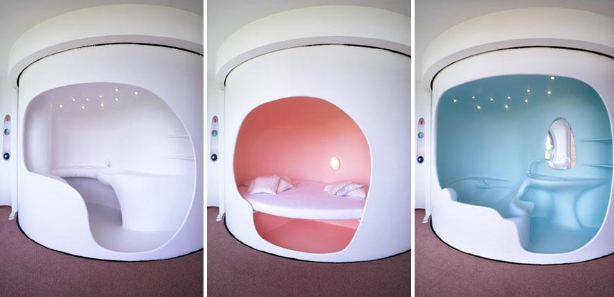 luigi colani rotorhaus modern design by. Black Bedroom Furniture Sets. Home Design Ideas
