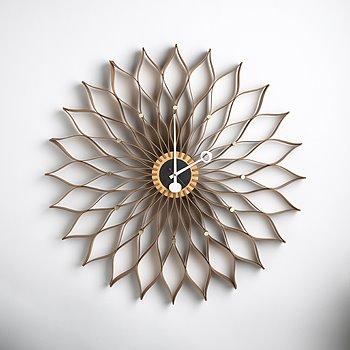 Wonderful George Nelson Sunflower Clock Good Looking