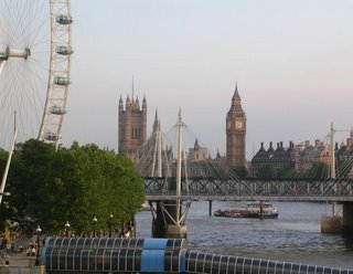 Gorgeous London: London Eye, the Thames, Westminster, Big Ben