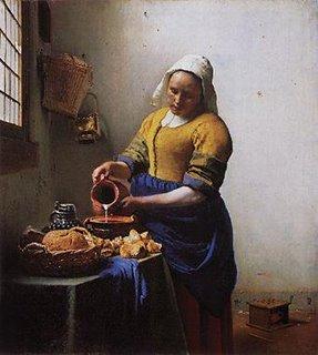 http://mystudios.com/vermeer/9/vermeer-milkmaid.html