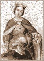 Ni Santa Isabel de Hungría