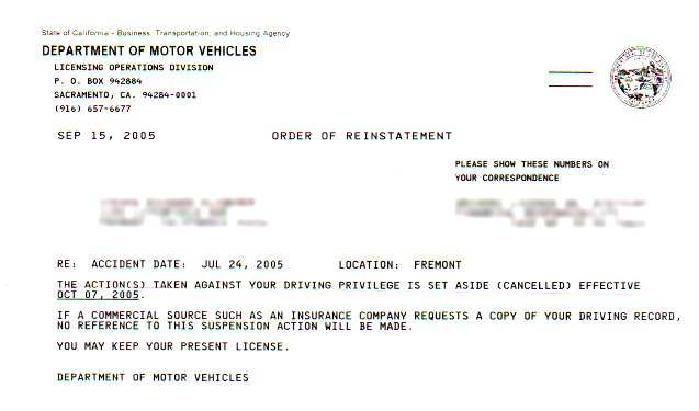 dmv self certification notification letter 28 images